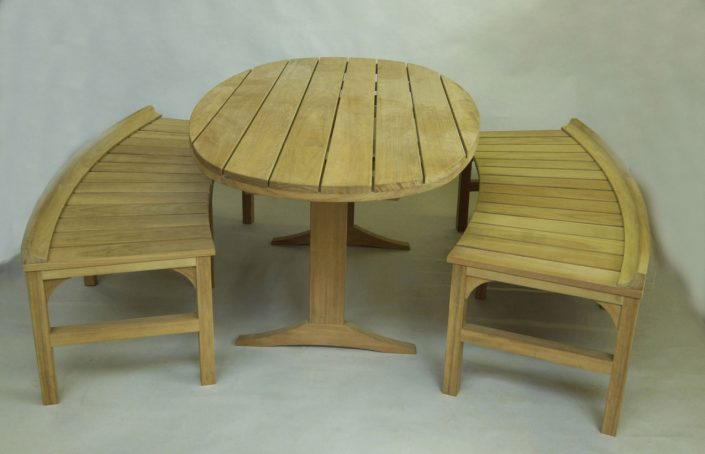 Bespoke iroko garden furniture