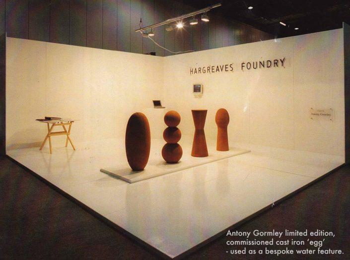 Antony Gormley sculptures