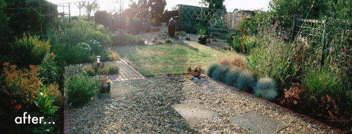 Revitalised garden