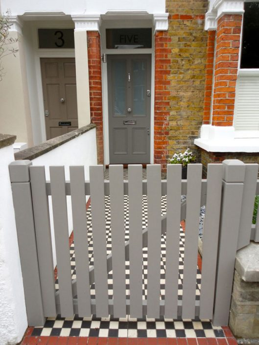 Paintwork matched to front door colour