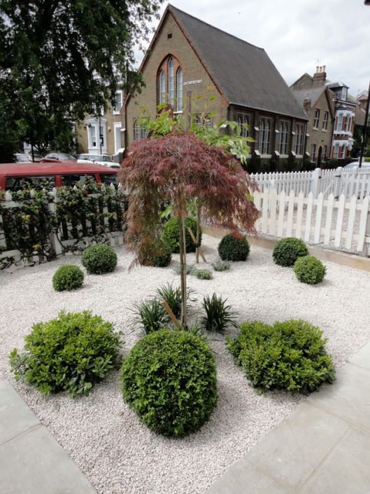 Low maintenance front garden – Garden Design by Antonia Schofield