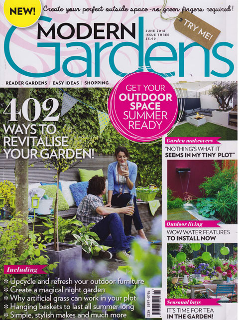 Antonia Schofield Garden Design, featured in Modern Gardens - June 2016