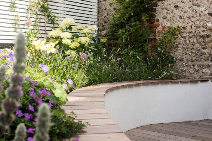Naturalistic planting by Antonia Schofield, Garden designer