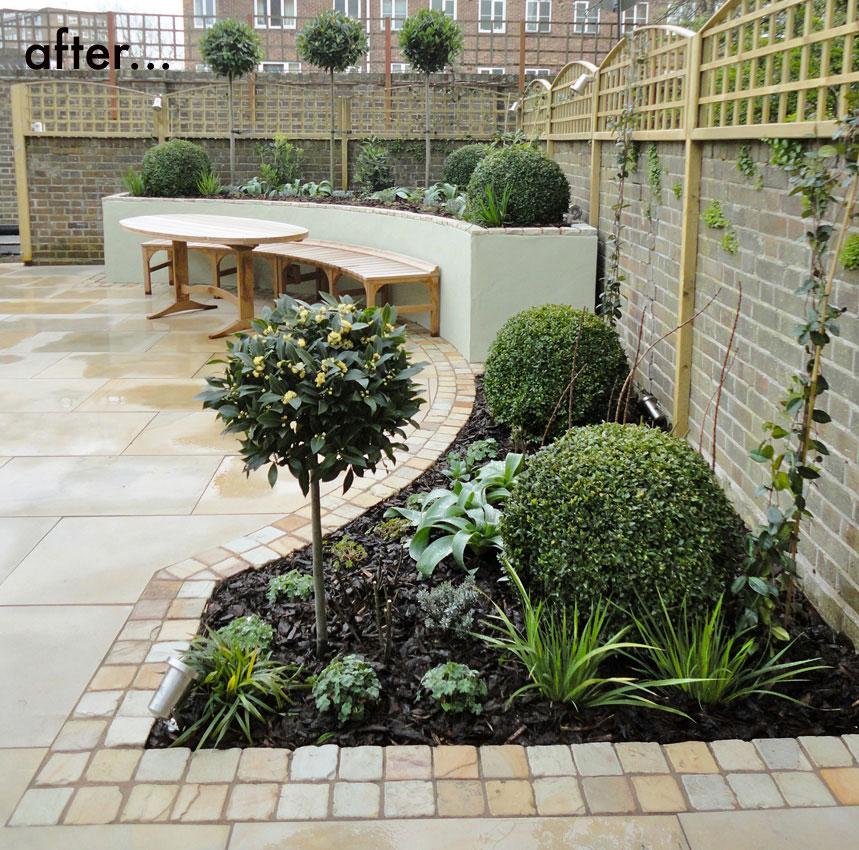 Curves Garden Garden Design By Antonia Schofield