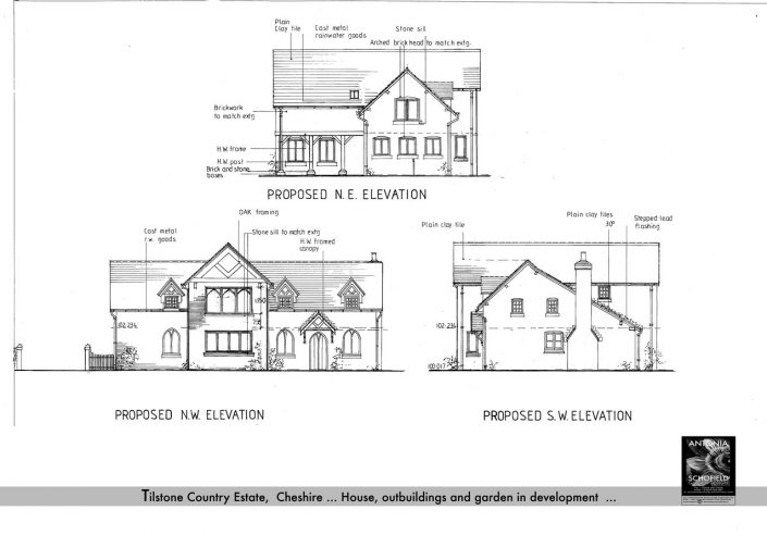 Key architectural features