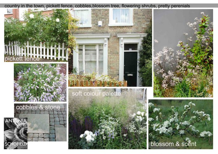 Mood board – Garden Design by Antonia Schofield