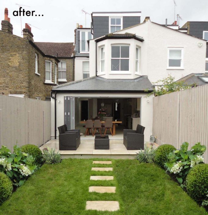 New finished garden